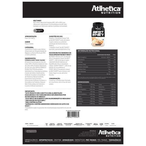 Imagem de Best Whey 900g - Atlhetica Nutrition