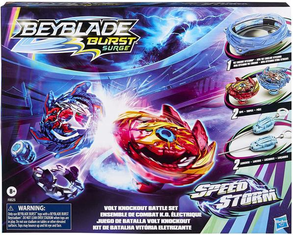Imagem de Beyblade Burst Surge - Arena Speedstorm Beystadium - Kit de Batalha Vitória Eletrizante F0525