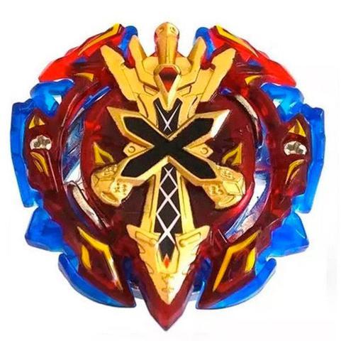 Imagem de Beyblade Burst Xeno Xcalibur.m.i B-48 - Dourado / Vermelho + Lançador Pequeno