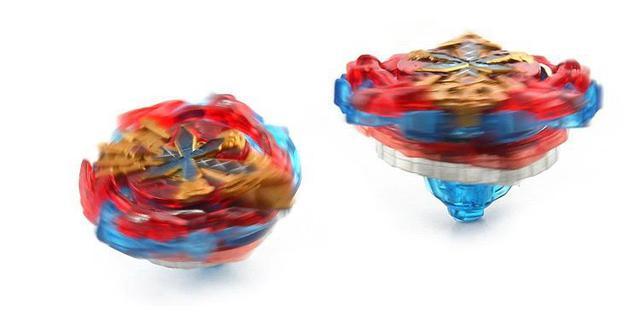 Imagem de Beyblade Burst Xeno Xcalius + Lançador Dupla Rotação Tornado Gyro
