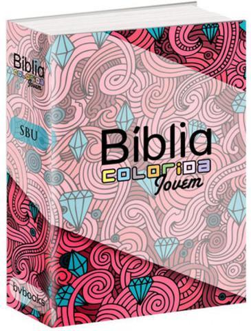 Imagem de Biblia colorida jovem