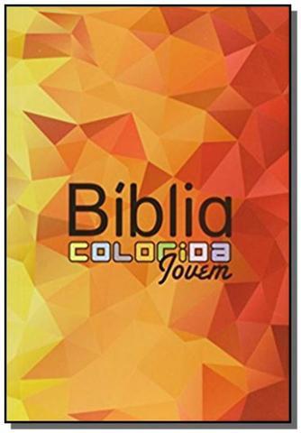 Imagem de Biblia colorida jovem - capa mosaico - Bv films