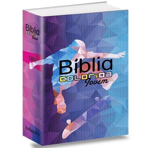 Imagem de Bíblia Colorida Jovem - Esporte Radical