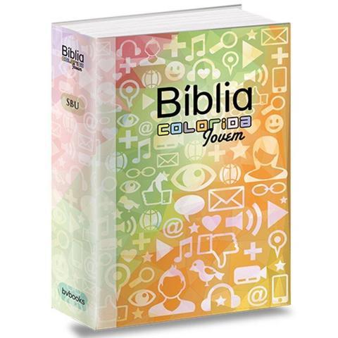 Imagem de Bíblia Colorida Jovem - Redes Sociais