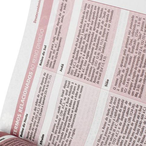 Imagem de Biblia da mulher, a - capa rosa claro - sbb