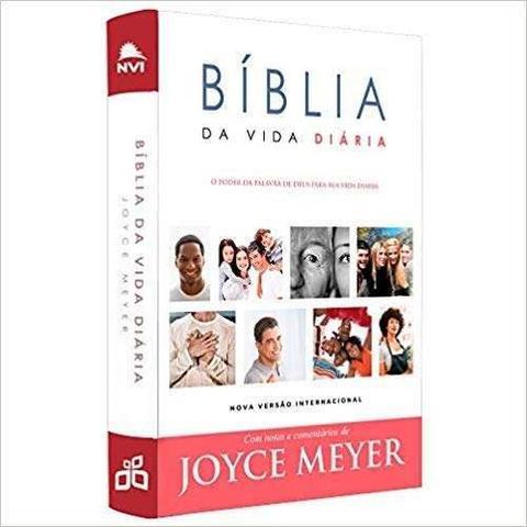 Imagem de Bíblia da Vida Diária NVI - Com Notas e Comentários de Joyce Meyer - Bello publicações
