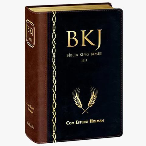 Imagem de BÍBLIA DE ESTUDO BKJ 1611 Corrigida FIEL Estudo Holman