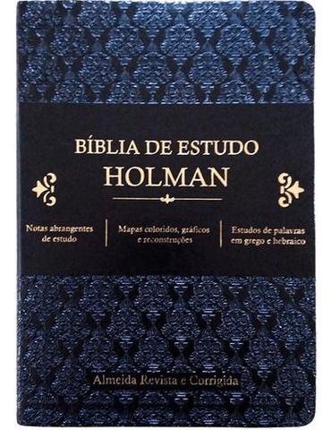Imagem de Bíblia De Estudo Holman Preto - Editora Cpad