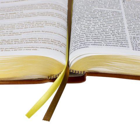 Imagem de Bíblia de Estudo Pregando com Poder - Marrom (Sem índice)