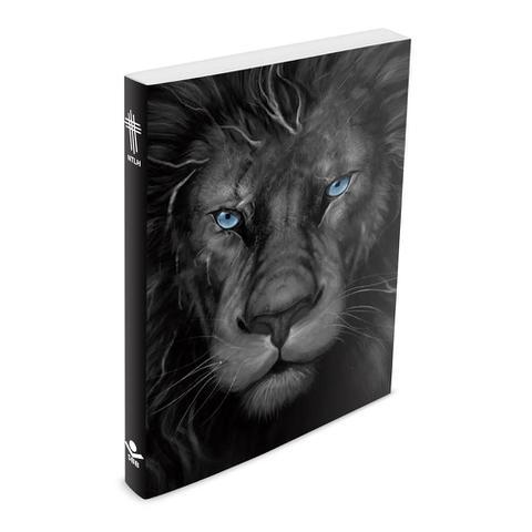 Imagem de Bíblia do Leão Grafite - Brochura - NTLH