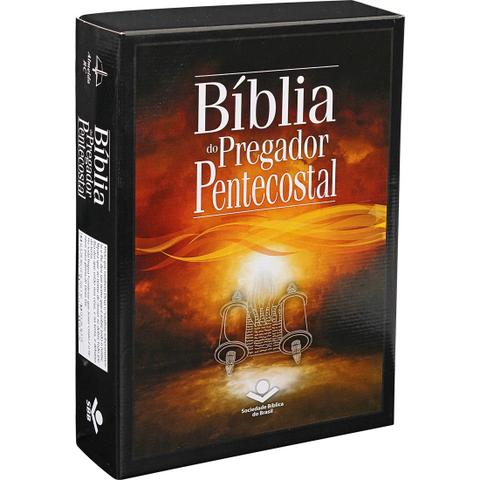 Imagem de Bíblia Do Pregador Pentecostal Grande Vinho Com Índice - Sbb