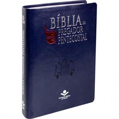 Imagem de Bíblia do pregador pentecostal NAA + marca página
