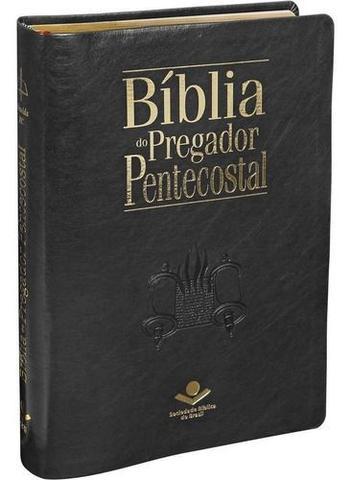Imagem de Bíblia Do Pregador Pentecostal - Preta - Editora Sbb