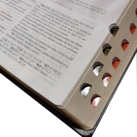 Imagem de Bíblia do Pregador Pentecostal RC Preta Com Índice