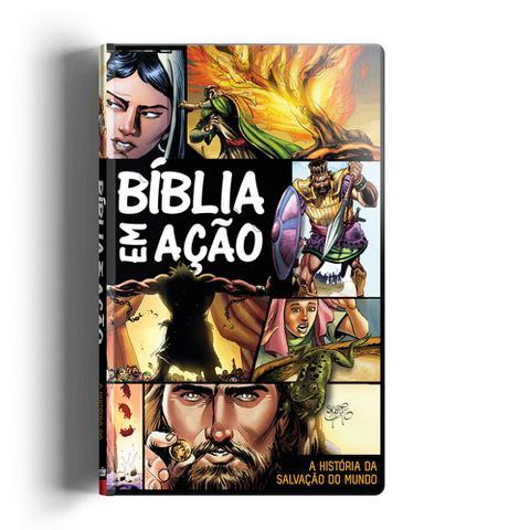 Imagem de Bíblia Em Ação - Capa Dura