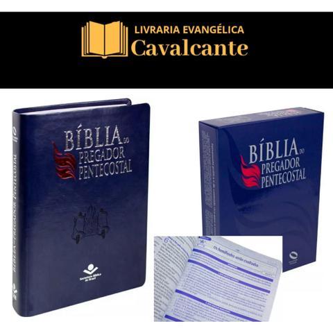 Imagem de Biblia gigante do Pregador Pentecostal + caixa