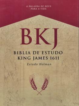 Imagem de Bíblia King James 1611 Com Estudo Holman - Preta - Bvbooks