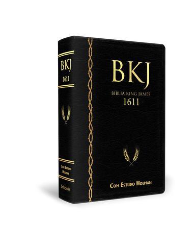 Imagem de Bíblia king james fiel 1611 com estudo holman (preta)