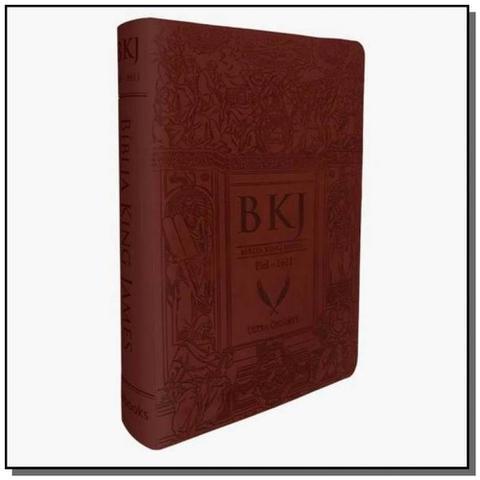 Imagem de Biblia king james fiel 1611 - letra ultra gigante - capa marrom - bv films - Bv films editora