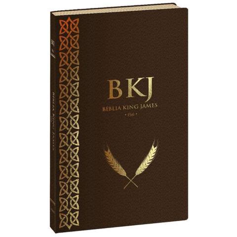 Imagem de Bíblia King James Fiel 1611 Ultra Fina - Marrom - Bvbooks