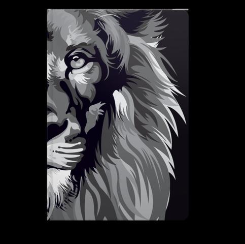 Imagem de Bíblia Lion Color  NVT  Letra Normal  Capa Dura Preto