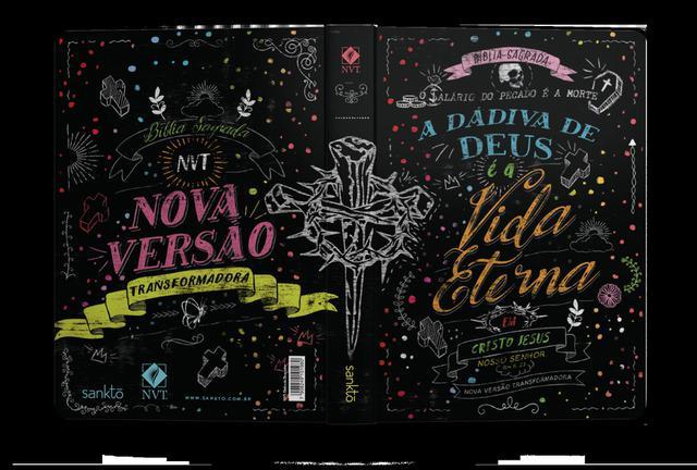 Imagem de Bíblia nvt 960 dádiva de deus color - letra normal: nova versão transformadora