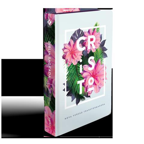 Imagem de Bíblia nvt 960 flores tropicais cristo - letra normal: nova versão transformadora