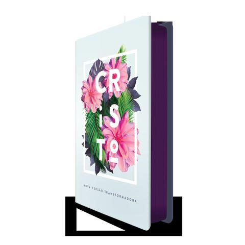 Imagem de Bíblia NVT 960 Flores Tropicais Cristo - Letra Normal