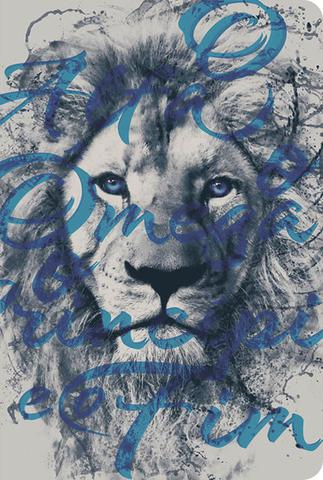 Imagem de Bíblia nvt 960 leão alfa e ômega - letra normal: nova versão transformadora - Sankto - Biblias
