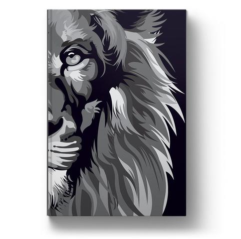 Imagem de Bíblia nvt lion colors b&w letra normal