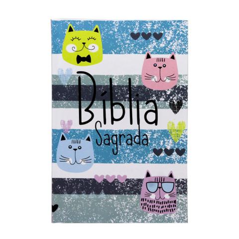 Imagem de Bíblia Sagrada  Capa Dura  Cats  ACF