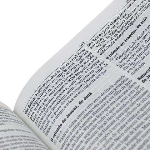 Imagem de Bíblia Sagrada - Nova Almeida Atualizada - Capa Couro Preta