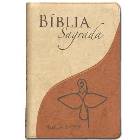Imagem de Bíblia Sagrada Tradução da CNBB Zíper Luxo