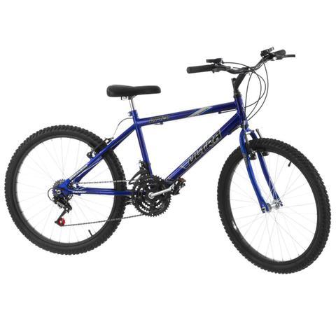 Imagem de Bicicleta 18 Marchas Aro 24 Azul Pro Tork Ultra