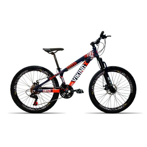 Imagem de Bicicleta 26 Vikingx 21v Cambio Shimano Aro Vmax Roxo