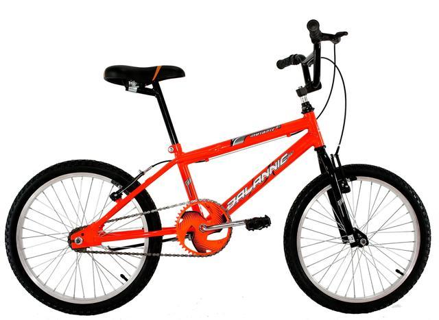 Bicicleta Dalannio Bike Cross Freestyle Aro 20 Rígida 1 Marcha - Laranja