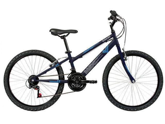 Bicicleta Caloi Max Aro 24 Rígida 21 Marchas - Preto