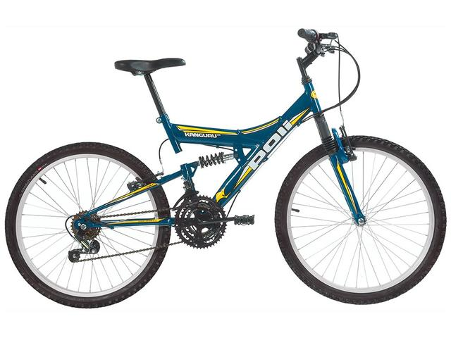 Imagem de Bicicleta Aro 24 Mountain Bike Polimet Kanguru