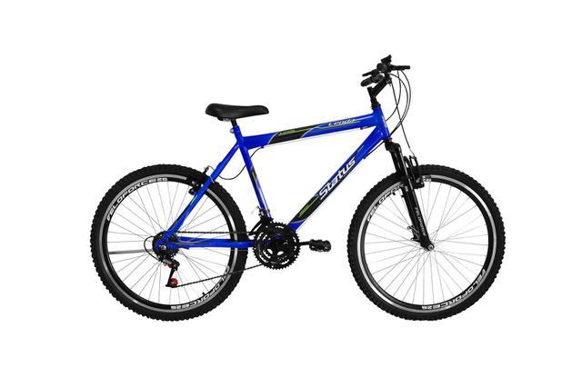 Imagem de Bicicleta Aro 26 18 Marchas Status Lenda c/ Suspensão Dianteira