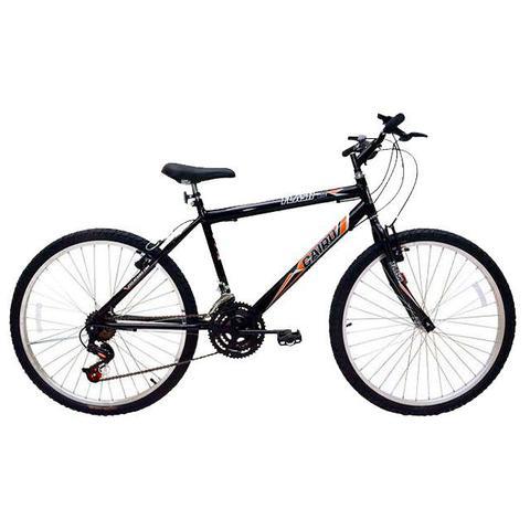 Imagem de Bicicleta aro 26 / 21 marchas masculina flash mtb 310919 cairo / preta