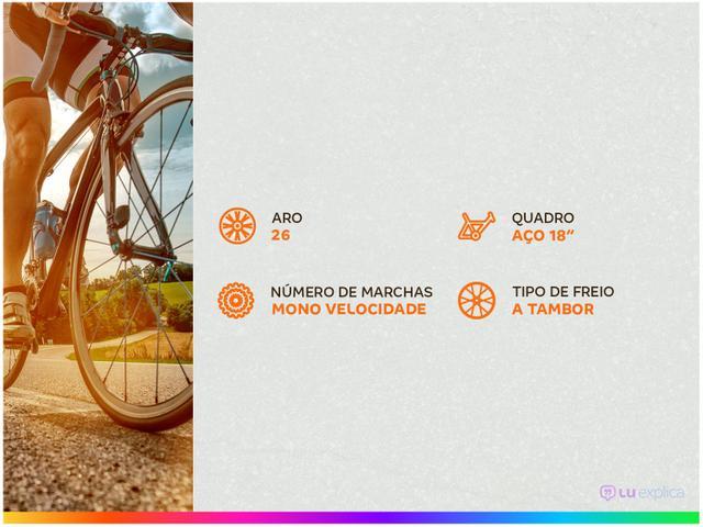 Imagem de Bicicleta Aro 26 Caloi Essencial T18R26V1