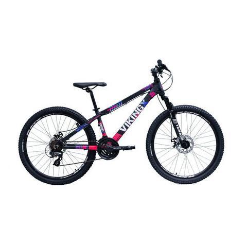 Imagem de Bicicleta Aro 26 Feminina Viking Tuff X30 21 Velocidades Freio A Disco Mecânico