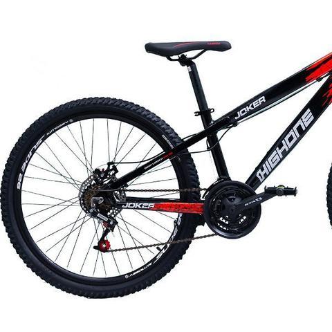 Imagem de Bicicleta Aro 26 Freeride High One Joker 21 Marchas Freio A Disco
