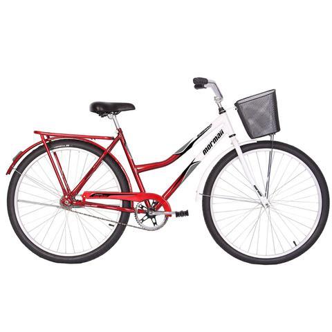Bicicleta Mormaii Soberana Cp Aro 26 Rígida 1 Marcha - Azul/branco