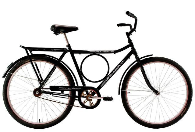 Imagem de Bicicleta Aro 26 Masculina Freio no Pe CP Potencia Preta - Dalannio Bike