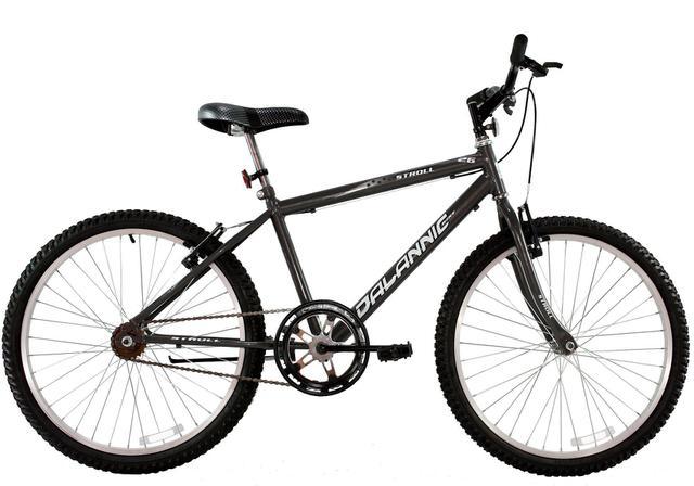 Bicicleta Dalannio Bike Stroll Aro 26 Susp. Dianteira 1 Marcha - Grafite