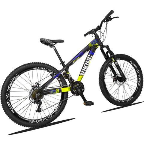Imagem de Bicicleta Aro 26 Viking TUFF 21v Câmbios Shimano Freio a Disco