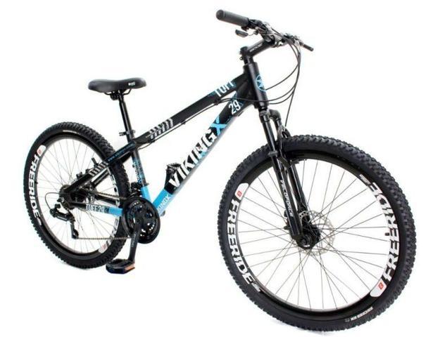 Imagem de Bicicleta Aro 26 Viking Tuff X30 21 Marchas Freio A Disco