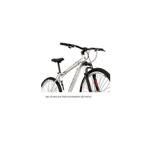 Imagem de Bicicleta aro 29 Absolute Nero III Alumínio 21 marchas Freio a Disco Suspensão Branca Tam.15