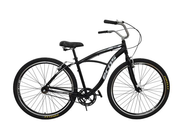 Bicicleta Dalannio Bike Beach Aro 26 Rígida 18 Marchas - Preto